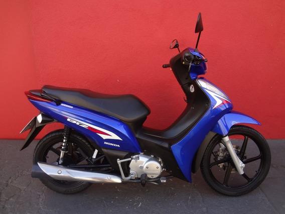 Honda Biz 125 Ex 2014 Azul