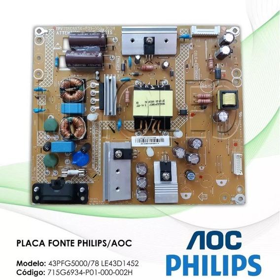 Fonte Philips 43pfg5000/78 Le43d1452 715g6934-p01-000-002h