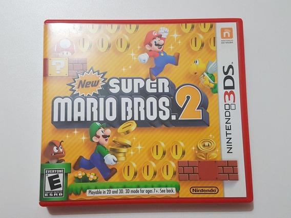 Capa New Super Mario Bros 2 Original Para Nintendo 3ds