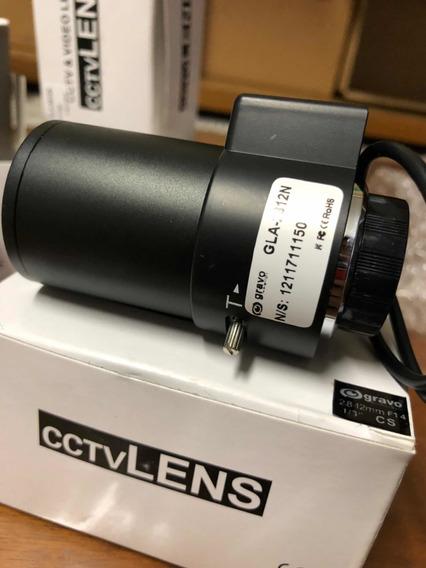 Lente Gravo Auto Iris Varifocal 2.8-12mm Cftv Oferta