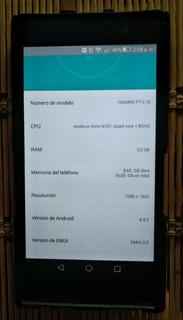Huawei P7 Quadcore Ram 2gb16 Gb Excelente Estado +accesorios