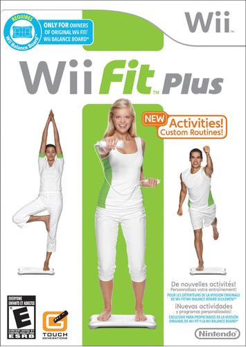 Juego Nintendo Wii Fit Plus - Refurbished Fisico