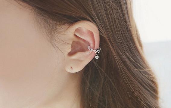 Ear Cuff Gota, Brinco De Encaixe, Bracelete, Brinco Pressão