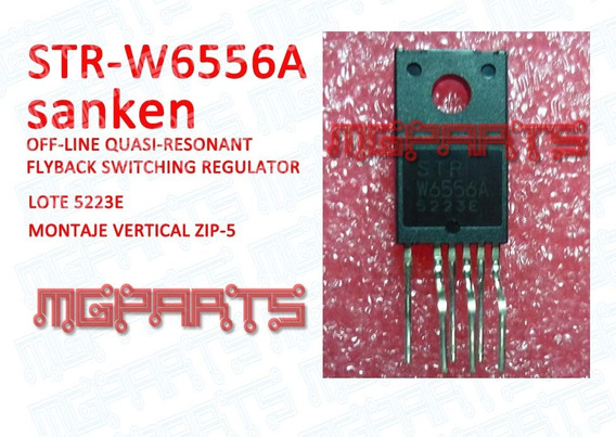 Strw6556a Str-w6556a Original Sanken Ic Regulador Cd Cc