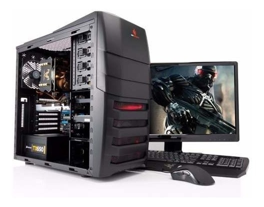 Pc Completo Gamer A4 6300 3.0ghz, Wi-fi! Frete Gratis! Nfe