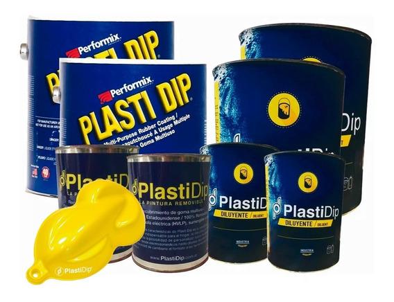 Plasti Dip Pintura Removible Auto Grande Saturn Yellow Perla
