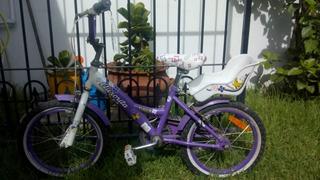 Bicicleta Aurorita Rodado 16