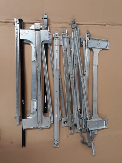 Lote Corrediças Para Rack Servidor Dell