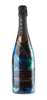 Champagne Moet Chandon Nectar Imperial Urban Jungle 750 Ml