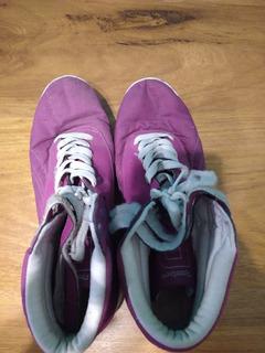 Zapatillas Reebok Violetas - Talle 40