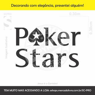 Poker Stars Adesivos Frete Incluso
