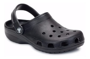 Crocs Classic K Niños Originales 100% Negro