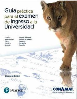 Guia Conamat 5ta Ed. Examen De Ingreso A La Unam 2019