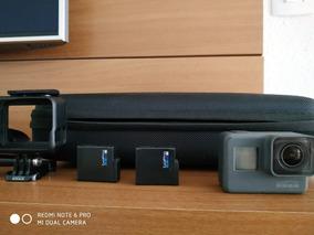Gopro Hero 5 Black, Acessórios, 2 Baterias + Cartão De 64gb
