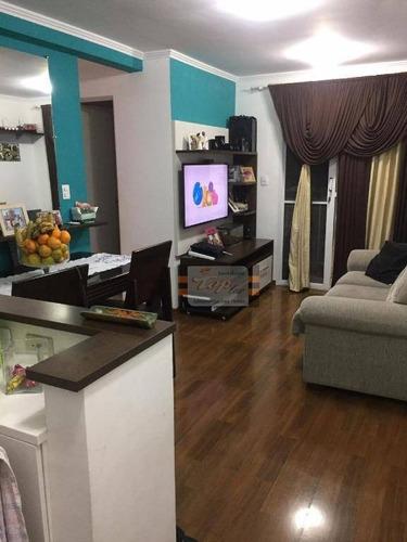 Apartamento Com 2 Dormitórios À Venda, 48 M² Por R$ 260.000 - Vila Jaraguá - São Paulo/sp - Ap1046