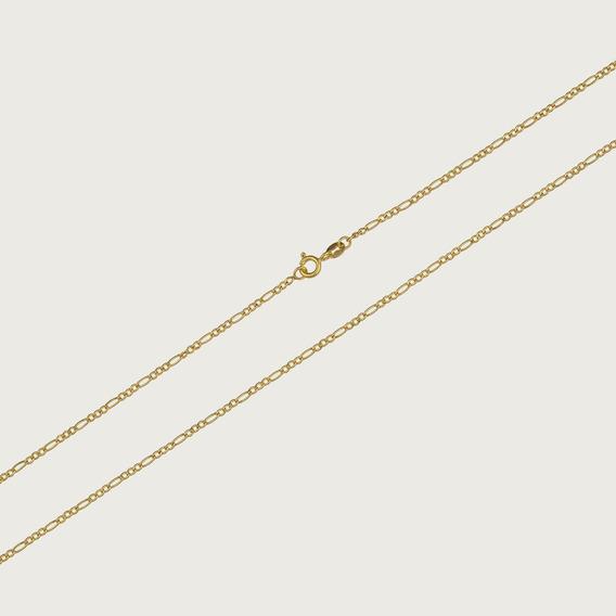 Cordão Em Ouro 18k Unissex 3x1 - 60cm