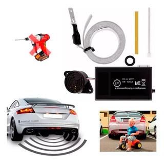 Sensor De Reversa Electromagnetico / Cinta Aderible + Buzzer
