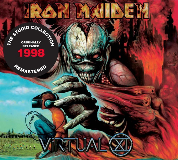 Cd Iron Maiden Virtual Xi (1998) - Remastered