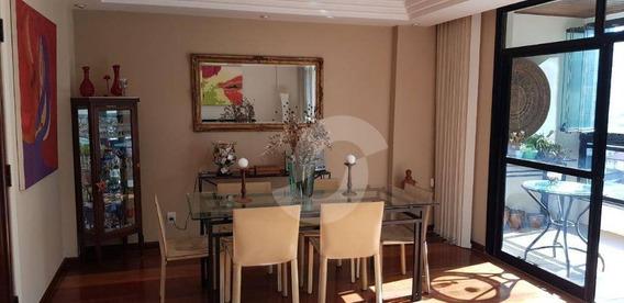 Apartamento Residencial À Venda, Jardim Icaraí, Niterói. - Ap4573