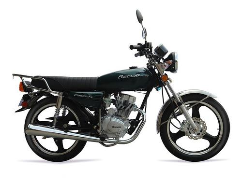 Baccio Classic Fx 125 Nuevo Modelo 2021 Usb Cg Delcar Motos®