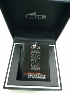 Estuche Reloj Lotus Original Con Garantia Nuevo Unisex