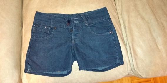 Mini Shorts De Jean By Deep. Talle 34 Small