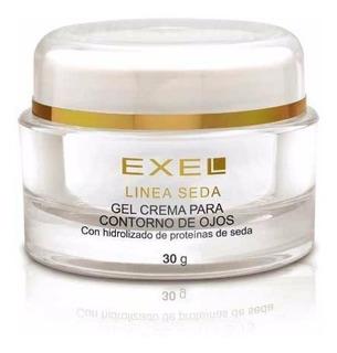 Crema Facial Exel Gel Cream Contorno De Ojos Linea Seda 30ml
