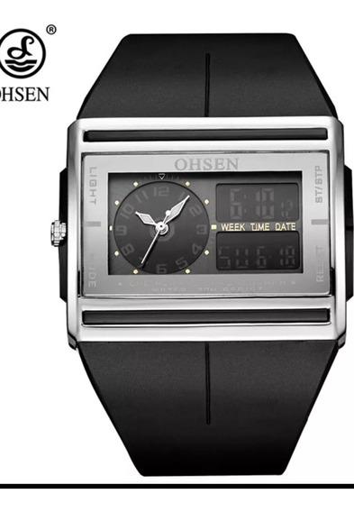 Relógio Ohsen Led Digital E Analógico À Prova D