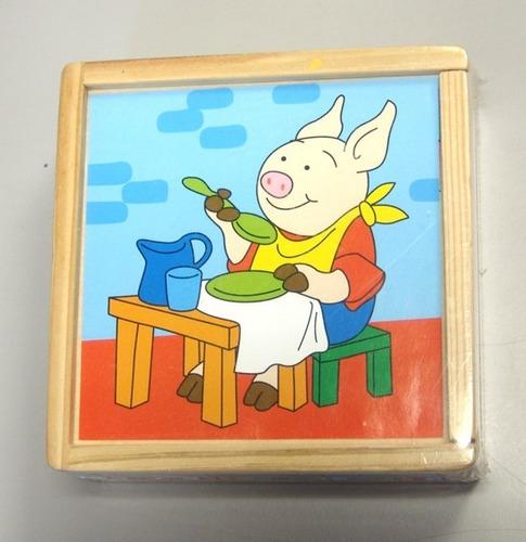 Imagen 1 de 1 de Rompecabezas De Cubos Mi Alegria