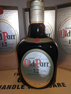 Whisky Grand Old Parr 0.75lt