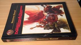 Ad&d - Monstrous Manual - 1 Edição - Rpg
