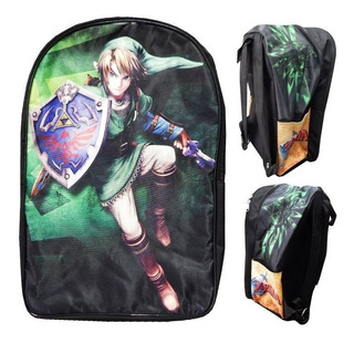 The Legend Of Zelda Mochila Backpack Link Escudo