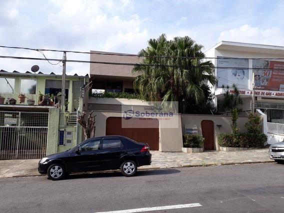 Casa Com 4 Dormitórios Para Alugar, 300 M² Por R$ 5.000,00/mês - Jardim Flamboyant - Campinas/sp - Ca3367
