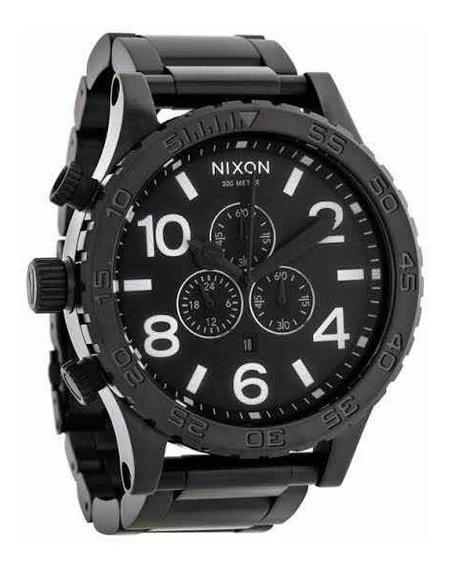 Relógio Nixon 51-30 Black - Original Comprado No Japão