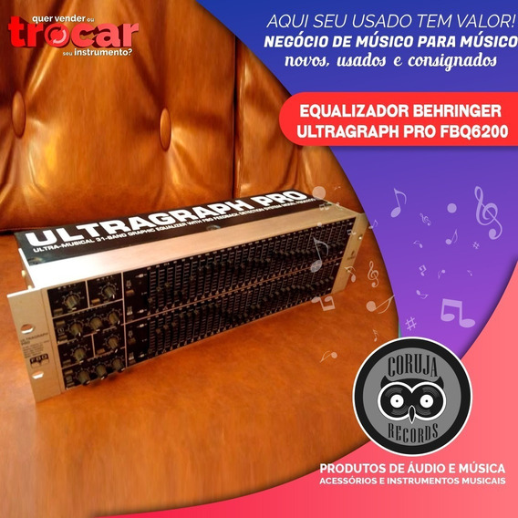 Equalizador Behringer Ultragraph Pro Fbq6200