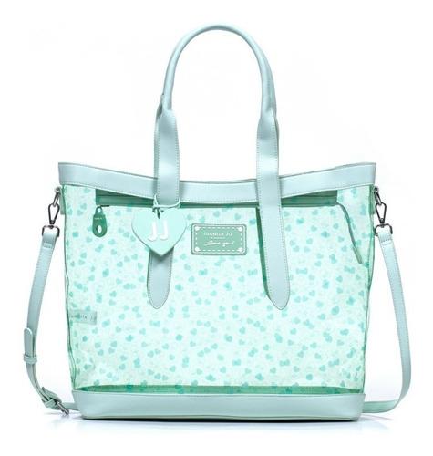 Cartera Juanita Shopping Bag Cancun Aqua 10878