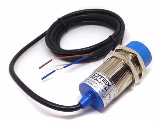 Cm30-2015a Sensor Capacitivo Não Faceado 90~250vca Na 0~15mm