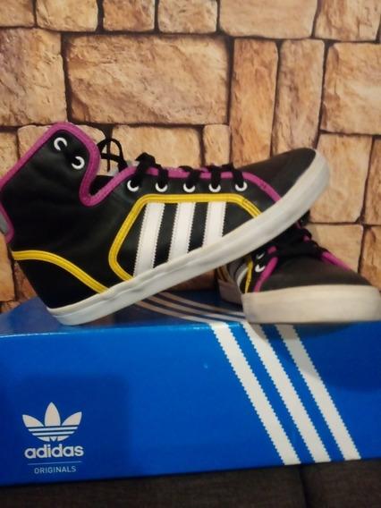 Zapatillas adidas Honey Hoop Talle 39.5 Arg. Uk 7.5