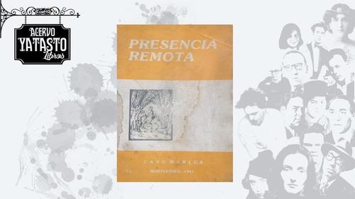Imagen 1 de 5 de Presencia Remota [escaso]