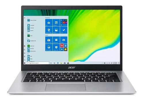"""Imagem 1 de 4 de Notebook Acer Aspire 5 A514-53 prata 14"""", Intel Core i5 1035G1  8GB de RAM 256GB SSD, Intel UHD Graphics G1 60 Hz 1366x768px Windows 10 Home"""