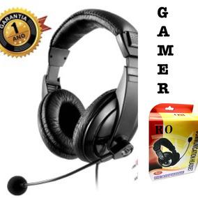 Fone Ouvido Gamer Headset Microfone Jogos Computador Pc Jogo