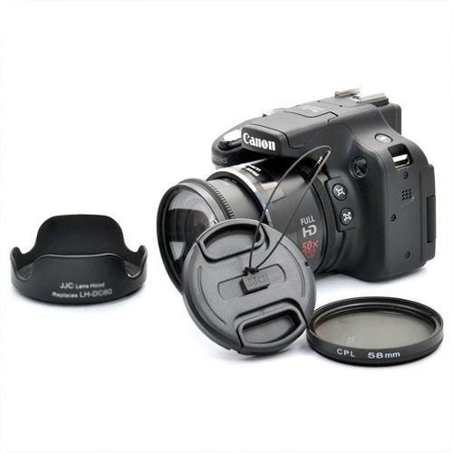 Câmera Canon Sx50 Hs | Semi-profissional Usada Semi Nova