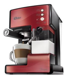 CafeteraOster PrimaLatte BVSTEM6601 Roja 220V