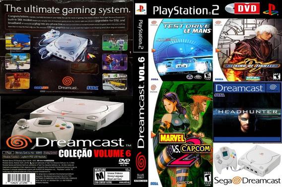 Emulador Sega Dreamcast Coleção Volume 6 Para Playstation 2