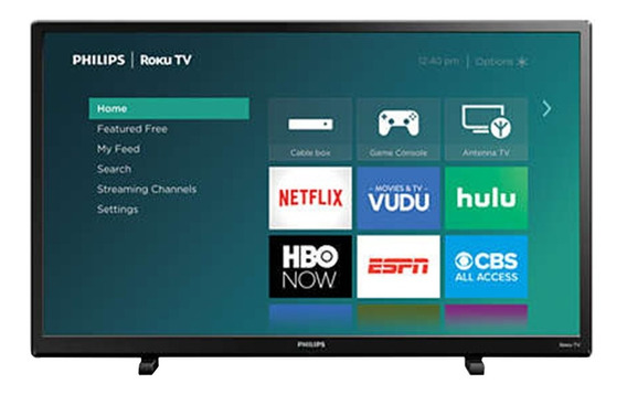 Smart Tv Philips 32 Pulgadas Led Con Netflix Youtube Spotify