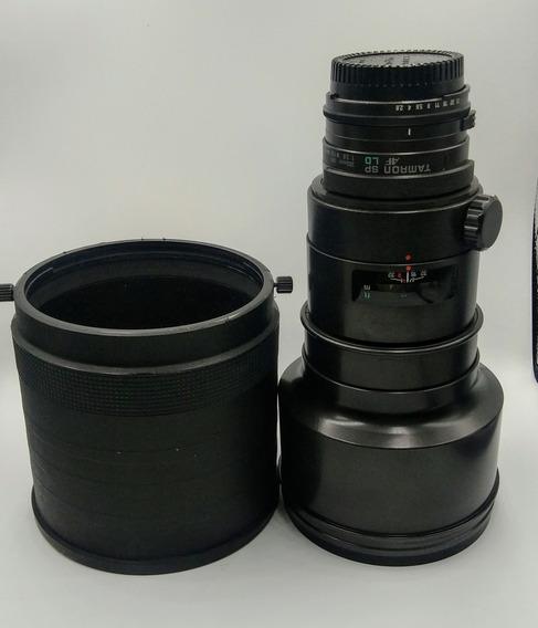 Lente Objetiva Tamron 300mm 2.8 Bem Conservada
