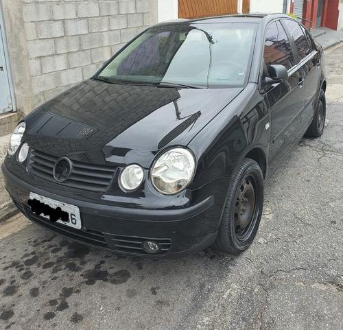 Polo Sedan 1.6 2005/2005 Totalflex + Gnv Legalizado