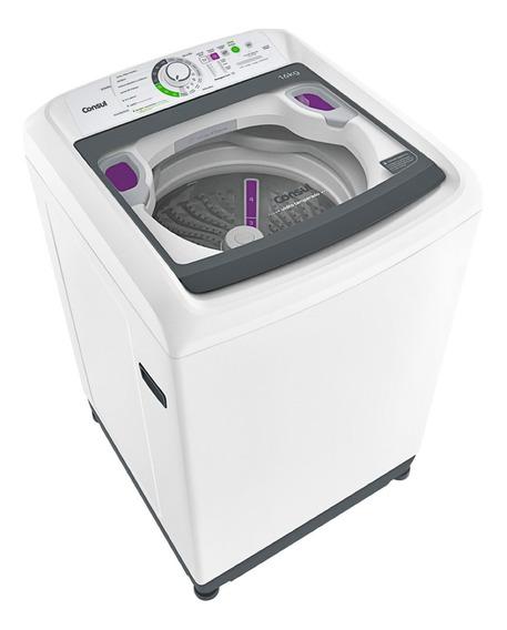 Lavadora de roupas automática Consul CWL16AB branca 16kg 220V