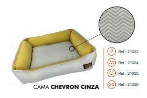 Cama Super Premium Chevron Cinza Gg