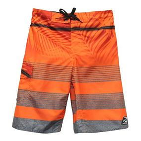 Laguna Boys New Horizon Boardshort Banador En Naranja, Talla